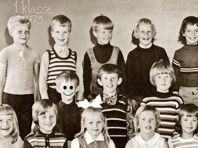første klasse smiley