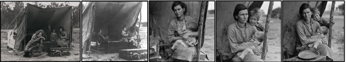 Dorothea_Lange Florence_Owens_Thompson_montage_by_