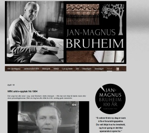 Jan-Magnus Bruheim nettside