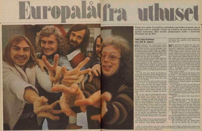 Popol Ace a-magasinet 1976 1