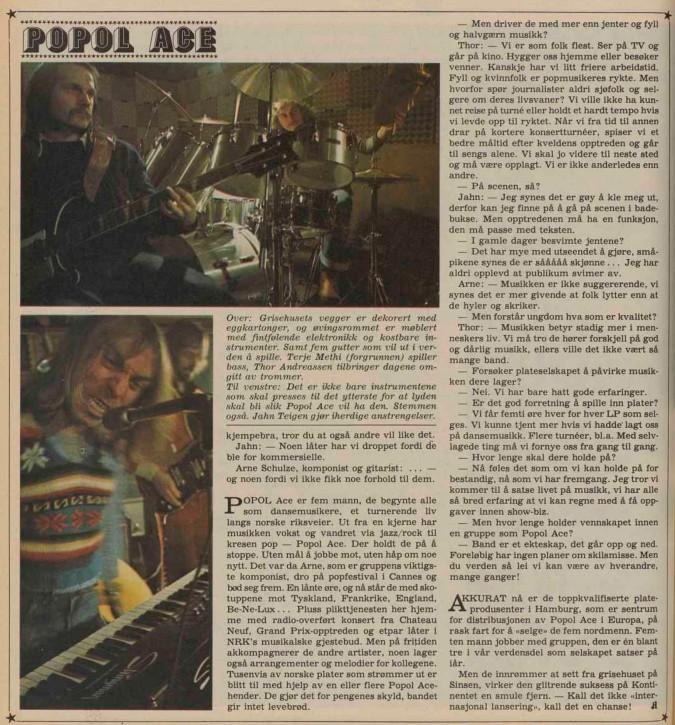 Popol Ace a-magasinet 1976 2
