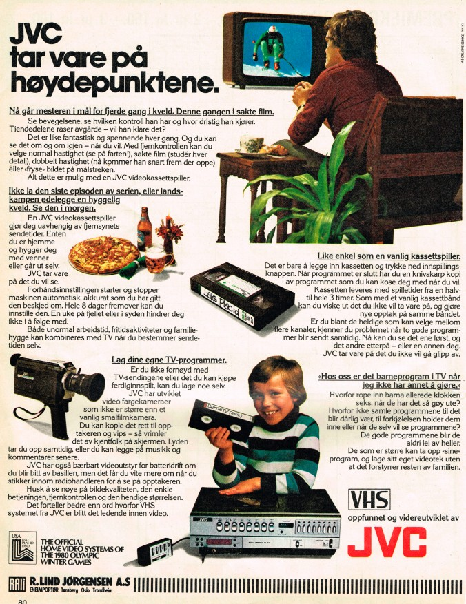 VHS annonse