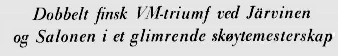 1959 Skøyter Bislet overskrift