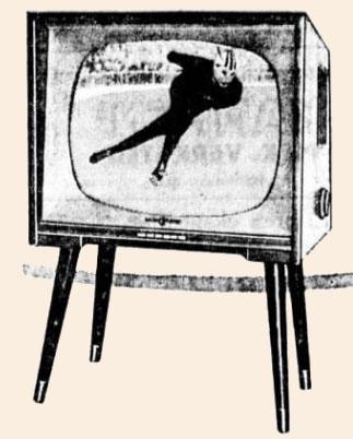1959 Skøyter TV-skjerm 1