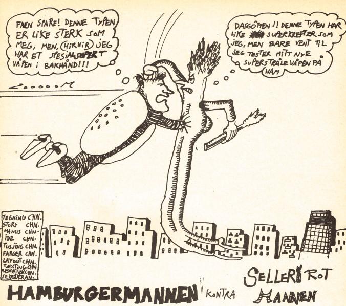 Psykose - Hamburgermannen 1