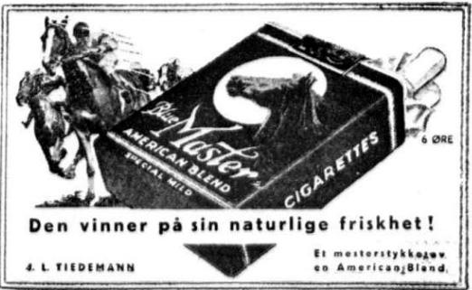 Rekalme Blue master 20 april 1939