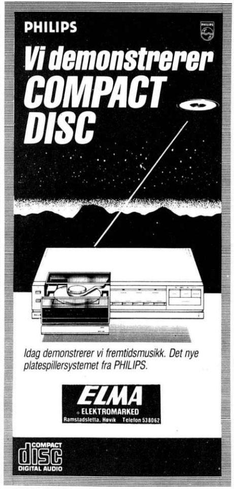 Reklame CD-spiller 041583
