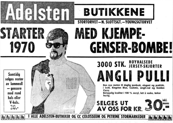1970 0501 Kjempe Genser Bombe