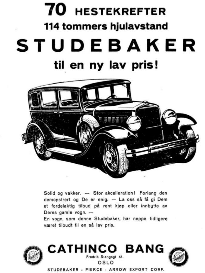 Sigurd Hoel Studbaker