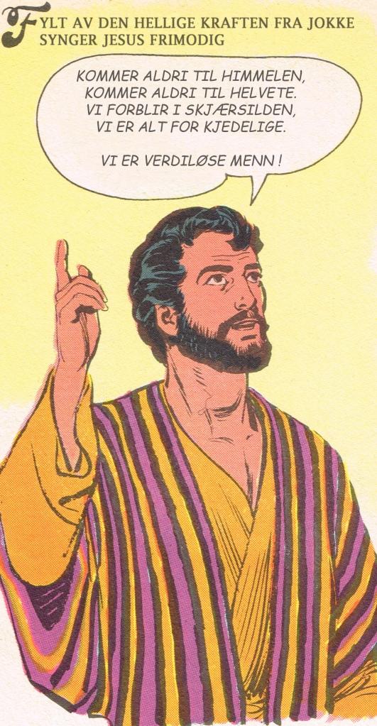 Tegneseriefigurer - Peter verdiløse menn