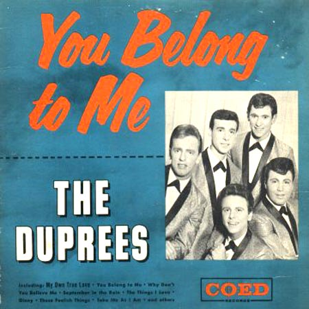 the duprees_you_belong_to_me_lp
