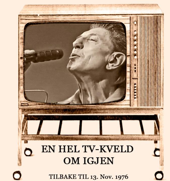 TV prg 13 nov 1976 med TV skjerm