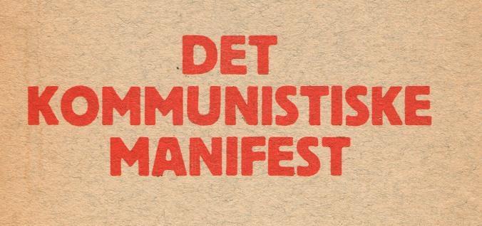 Det Kommunistiske Manifest logo