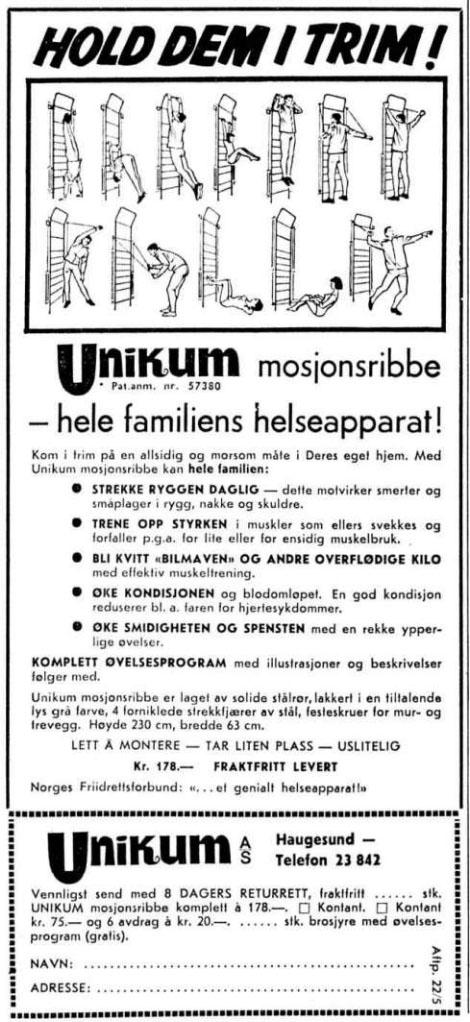 19670522 Ribbe vegg