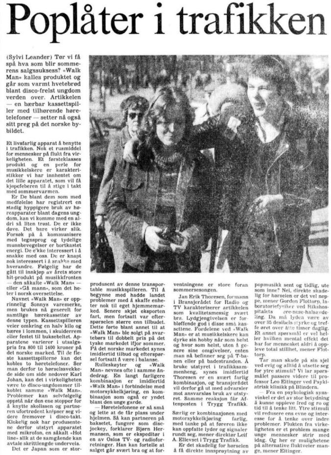 1981 04 22 Walkman artikkel