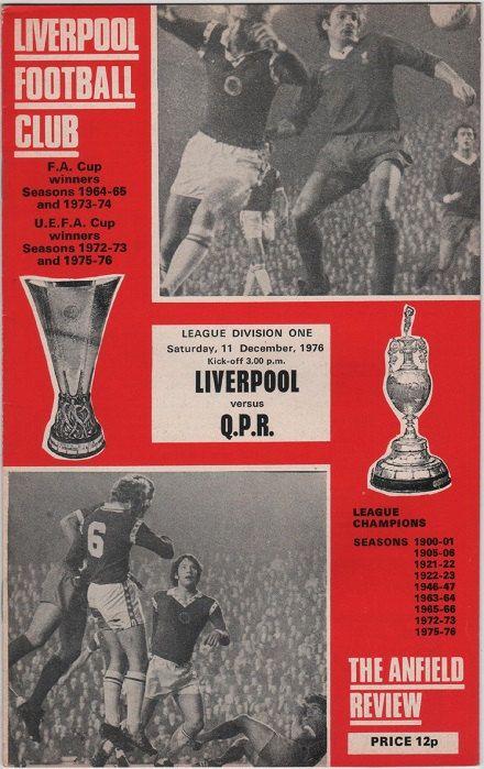 Liverpool v qpr 1976