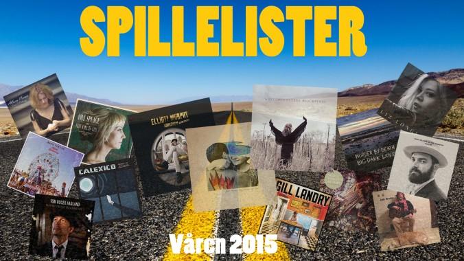 Spillelister våren 2015