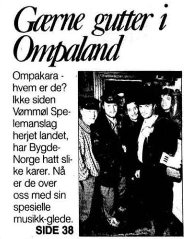 Ompakara forside Aftenposten 26091