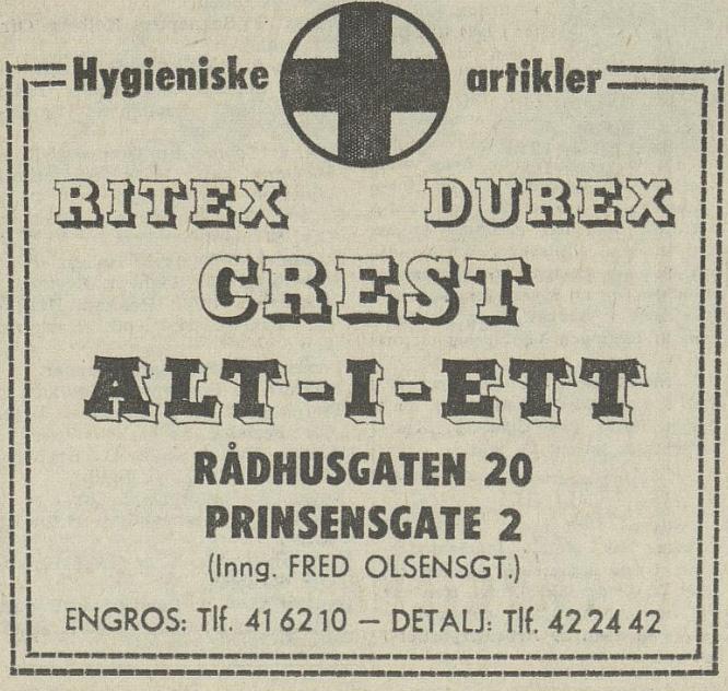 Aftenposten 051670 Erotikk 2