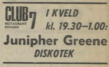 Aftenposten 051670 Junipher Green