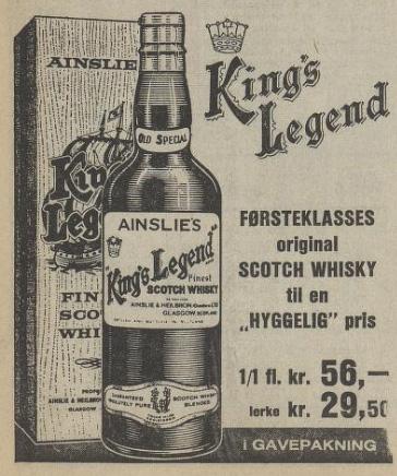 Aftenposten 051670 Kings Lear whisky