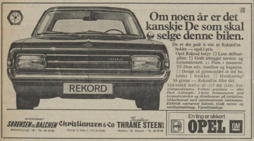Aftenposten 051670 Opel