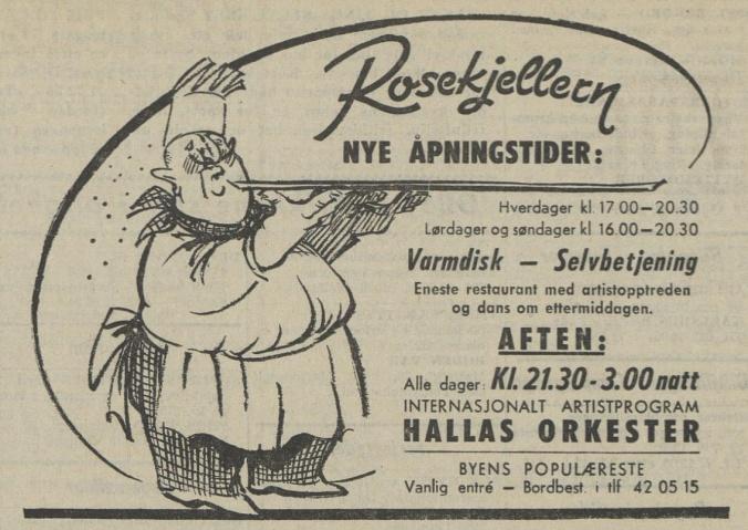 Aftenposten 051670 Rosenkjelleren
