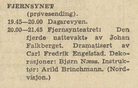 NRK Program 070460