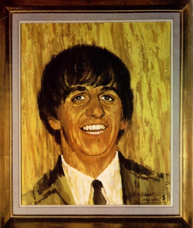 Pop Nytt Ringo maleri nr 1 65