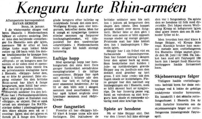 Skippy afteposten 1972