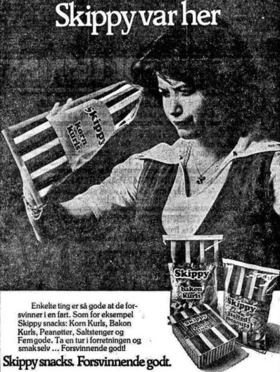 Skippy Snacks 1977