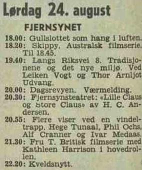 Skippy TV prg 1968