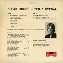 Terje Rypdal Blaek House cover back
