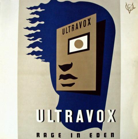 Ultravox - Rage in Eden cover